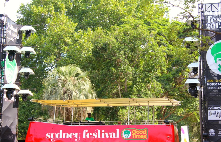 DJ Norman Jay at Sydney Festival
