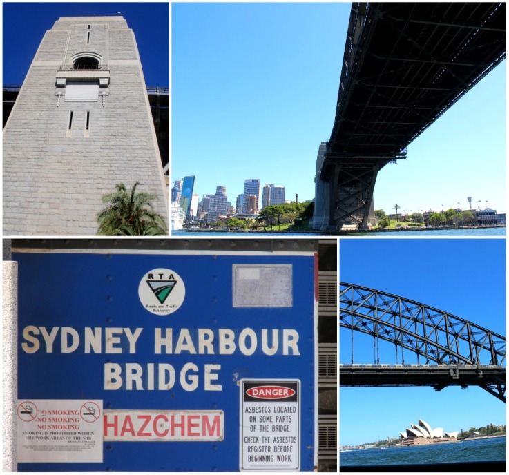 Sydney Harbour Bridge different angles