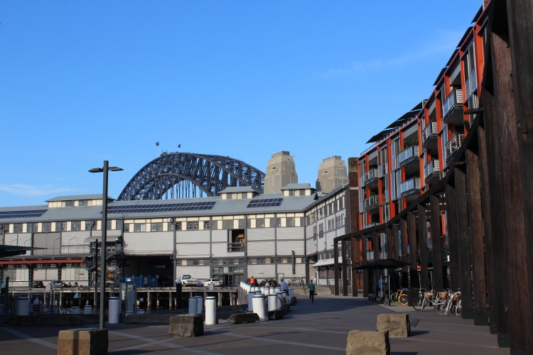 Sydney Harbour Bridge from Dawes Point